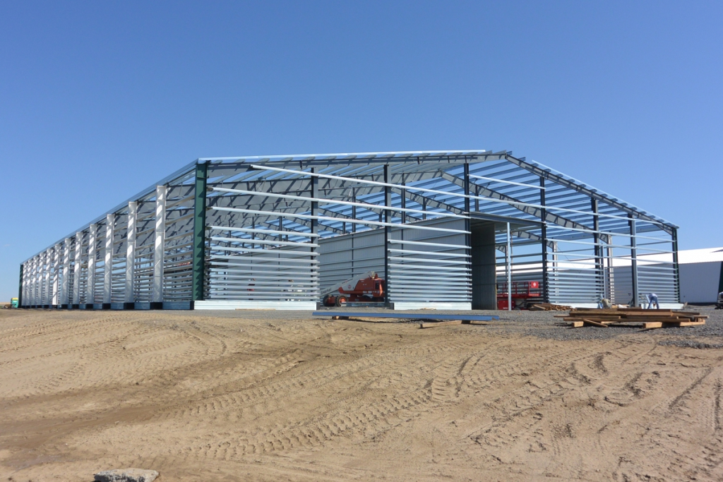 Target Ag Production - (Straight wall onion storage)
